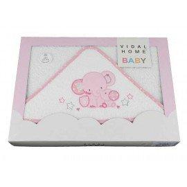 Capa de baño bebé Mama Elefante