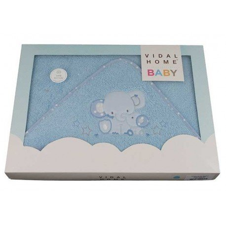 Capa de baño bebé Color Elefantes