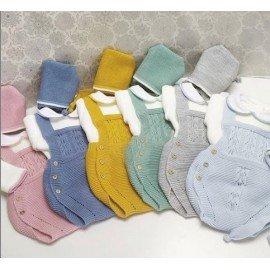 Ranita bebé lana con jersey