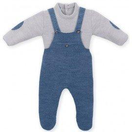 Peto bebé lana con jersey Alberto