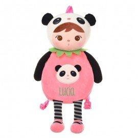 Mochila bebé Panda personalizada