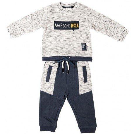 Chándal bebé niño gris Awesome