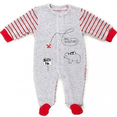Pijama bebé invierno Polo Norte