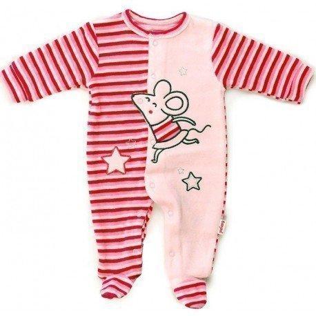 Pijama bebé niña Ratita Presumida