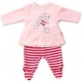 Pijama bebé niña Ratita