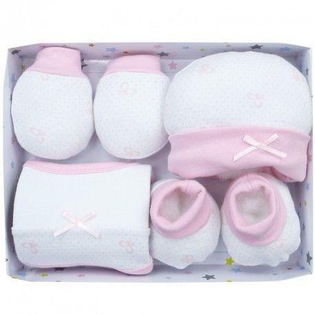Pack 4 piezas recién nacido lazos