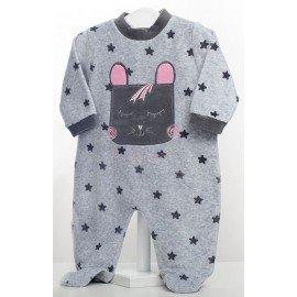 Pijama bebé niña Conejito Estrellas