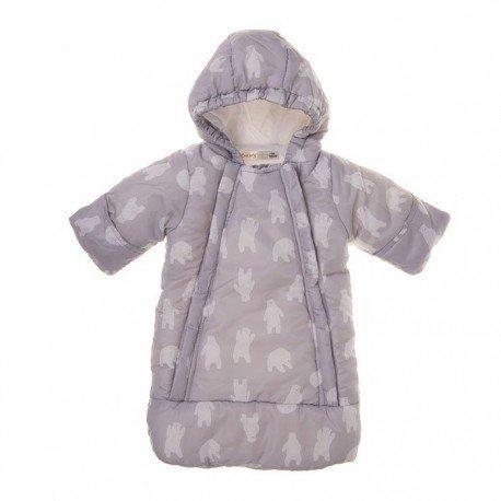 Buzo bebé gris Oso polar
