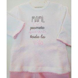 Conjunto bebé Mami Prometo