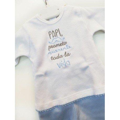 Conjunto bebé Papi Prometo
