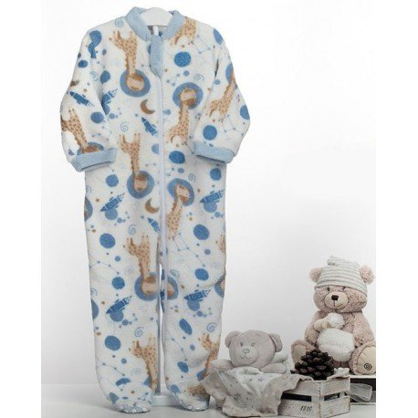 Pijama manta bebé Jirafas
