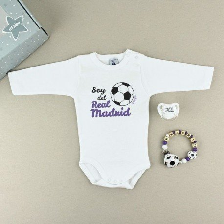 Cajita regalo bebé Real Madrid
