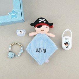 Cajita bebé muñeco Pirata