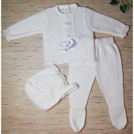 Conjunto bebé punto Pepito