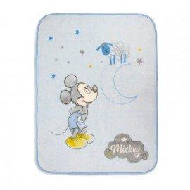 Manta cuna Mickey Mouse