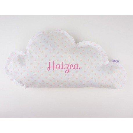 Cojín nube bebé personalizado