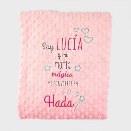 Manta bebé cuento Hada