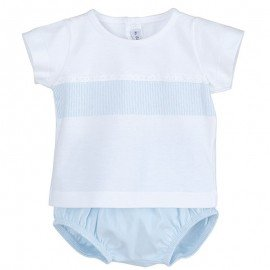 Conjunto bebé niño azul Canefa