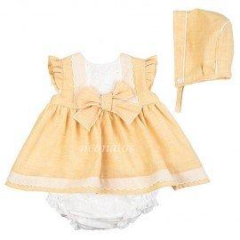 Jesusito bebé niña amarillo Elo
