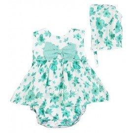 Jesusito bebé niña verde Cintia