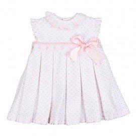 Vestido bebé niña rosa Luz