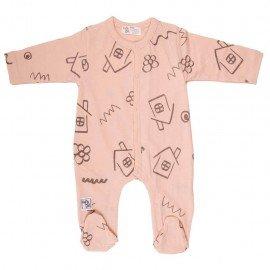 Pijama bebé verano Casitas