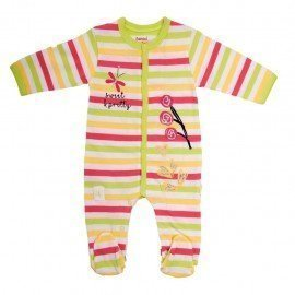 Pijama bebé verano Mariposa