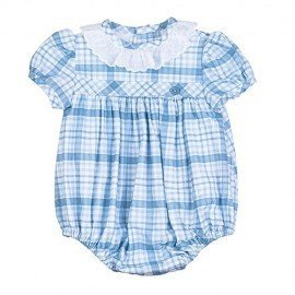 Pelele bebé niño de cuadros Arturo