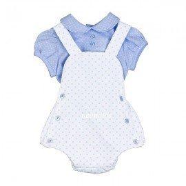 Ranita peto bebé blanca Topitos