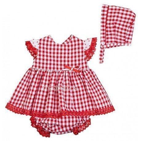 Jesusito bebé niña rojo Cristina