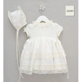 Vestido bautizo bebé