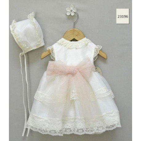 Vestido bebé ceremonia Cristal
