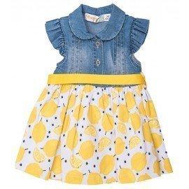 Vestido bebé niña Limones
