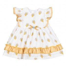 Vestido bebé niña Leones