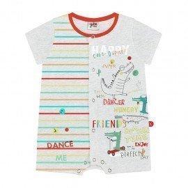 Pijama pelele bebé niño Cocodrilo