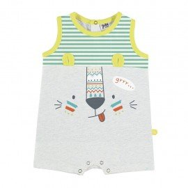 Pijama pelele bebé corto Animalito