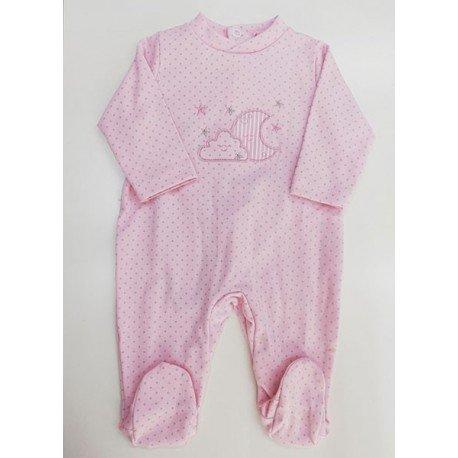 Pijama enterizo bebé Nube y Luna