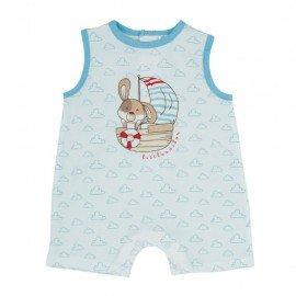 Pijama bebé niño blanco Little