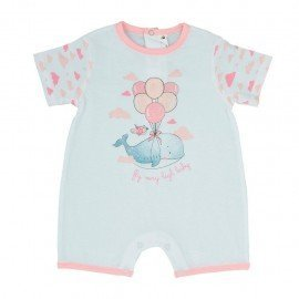 Pijama bebé niña Globos