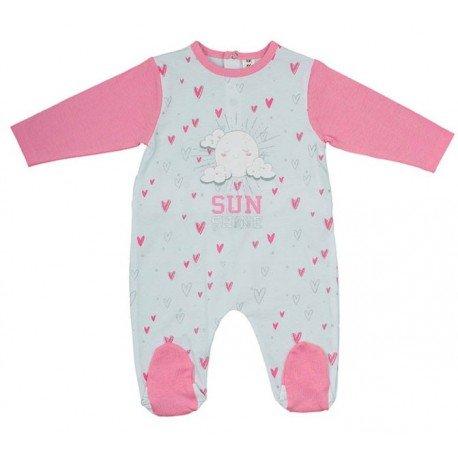 Pijama enterizo bebé Sol