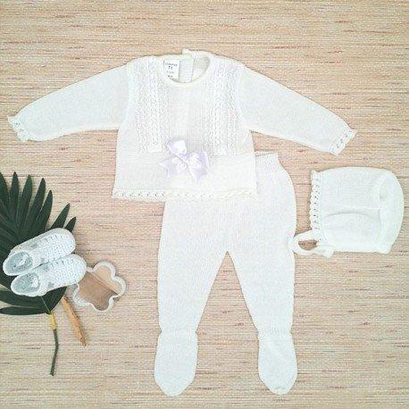 Conjunto bebé Neo Blanco
