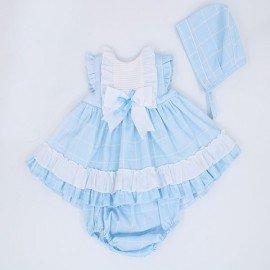 Jesusito bebé niña azul Eva