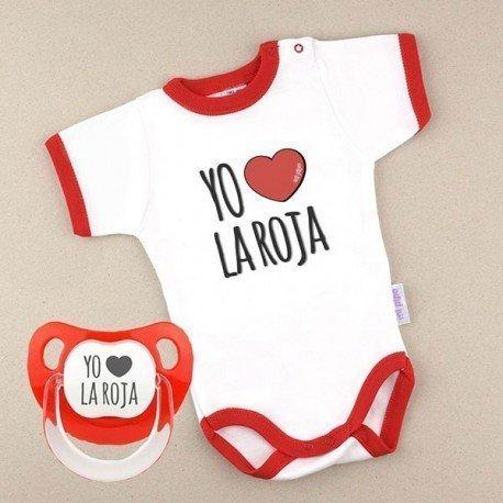 "Pack Eurocopa bebé ""La Roja"""