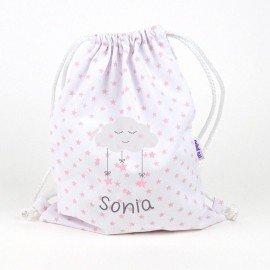 Mochila bebé Luna Personalizada