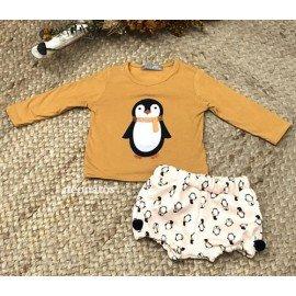 Conjunto bebé niño Pingüino