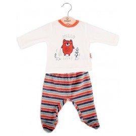 Pijama bebé azul Osito