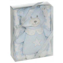 Peluche oso con manta Bear Star
