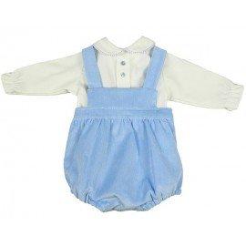 Peto bebé niño azul Usmail