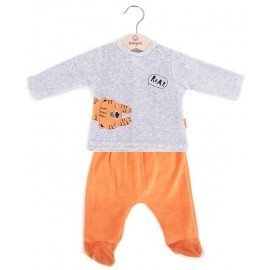 Pijama bebé invierno Tigre