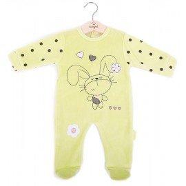 Pijama bebé niña conejito